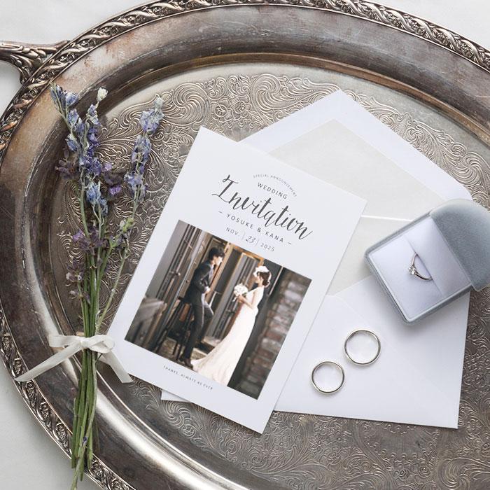 結婚式 招待状 Maison 1