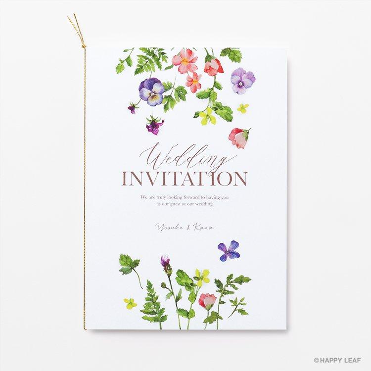 結婚式 招待状 Chanter