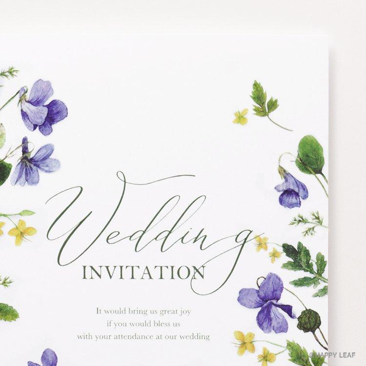 結婚式 招待状 Fiora イメージ