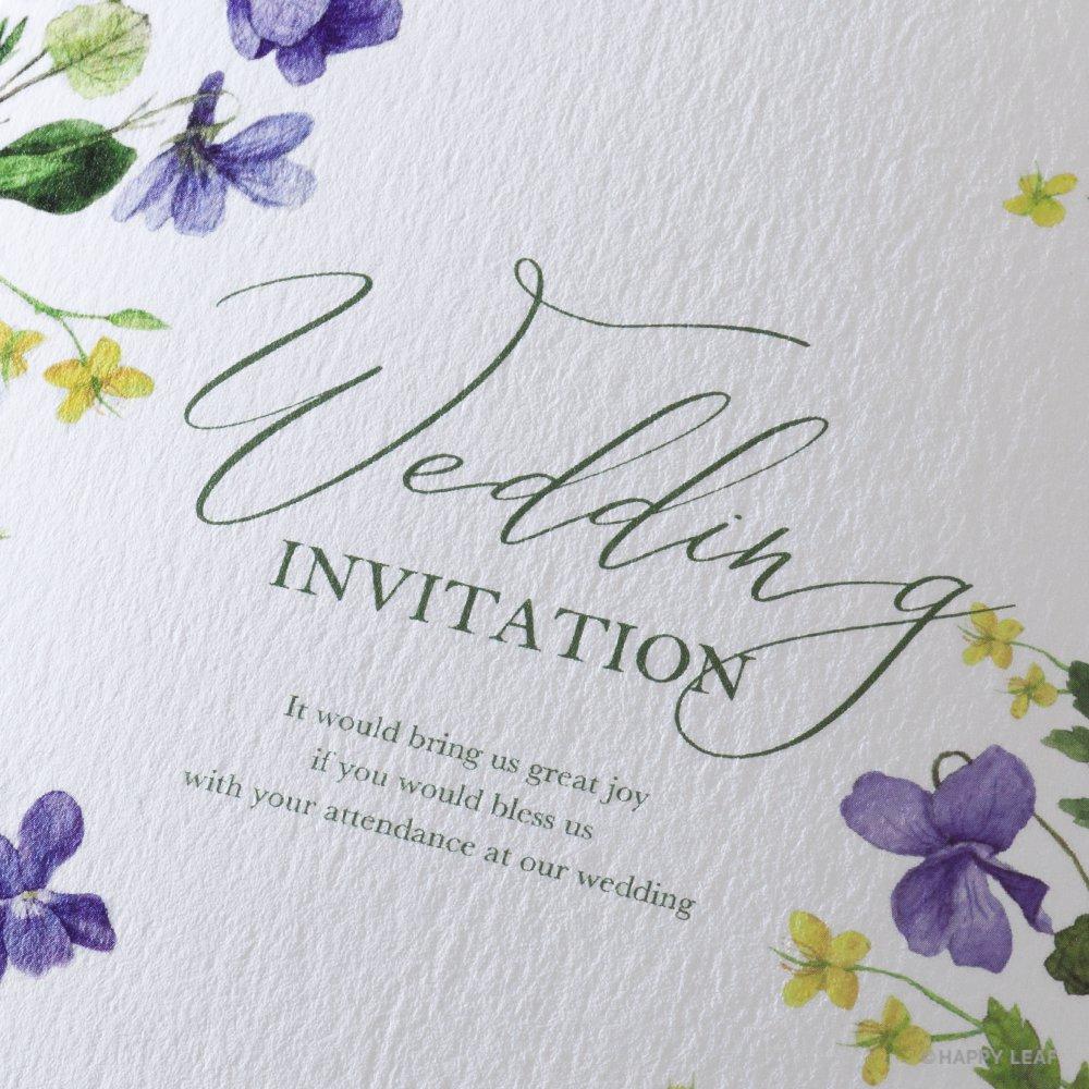 結婚式 招待状 Fiora 2