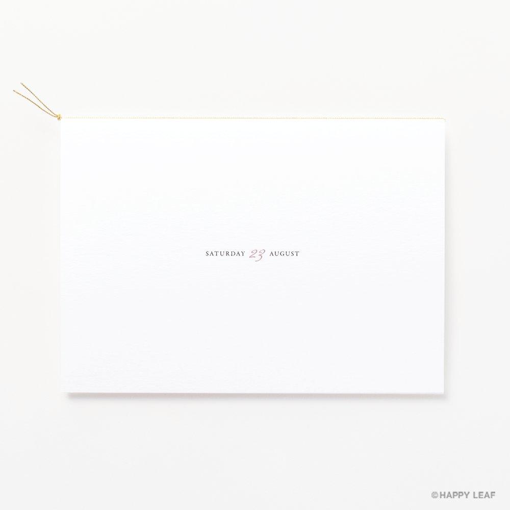 結婚式 招待状 Laulea Coral 4