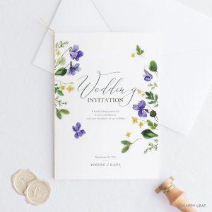 結婚式 招待状 Fiora