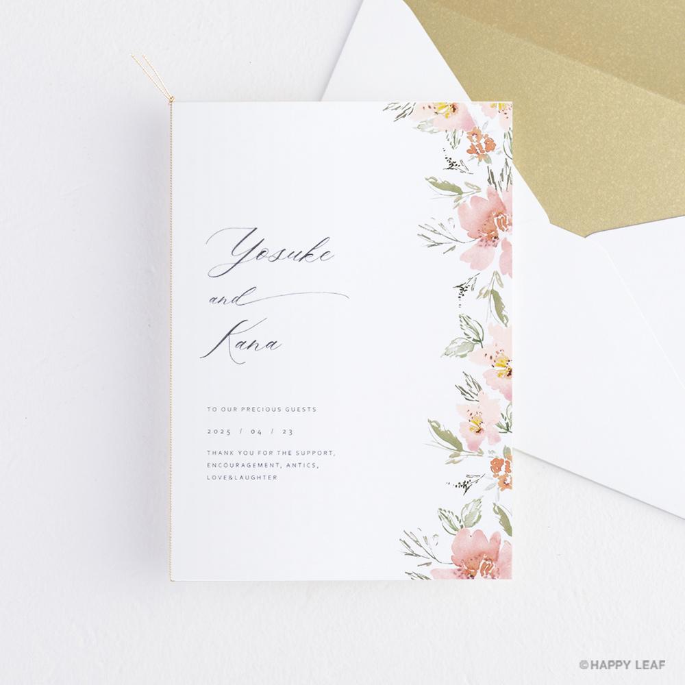 結婚式 招待状 calin