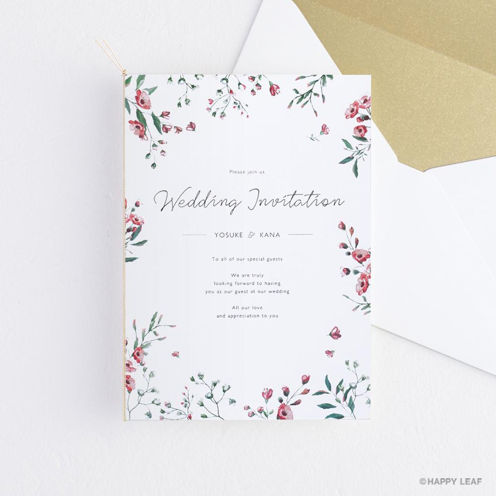 結婚式 招待状 Fiaba