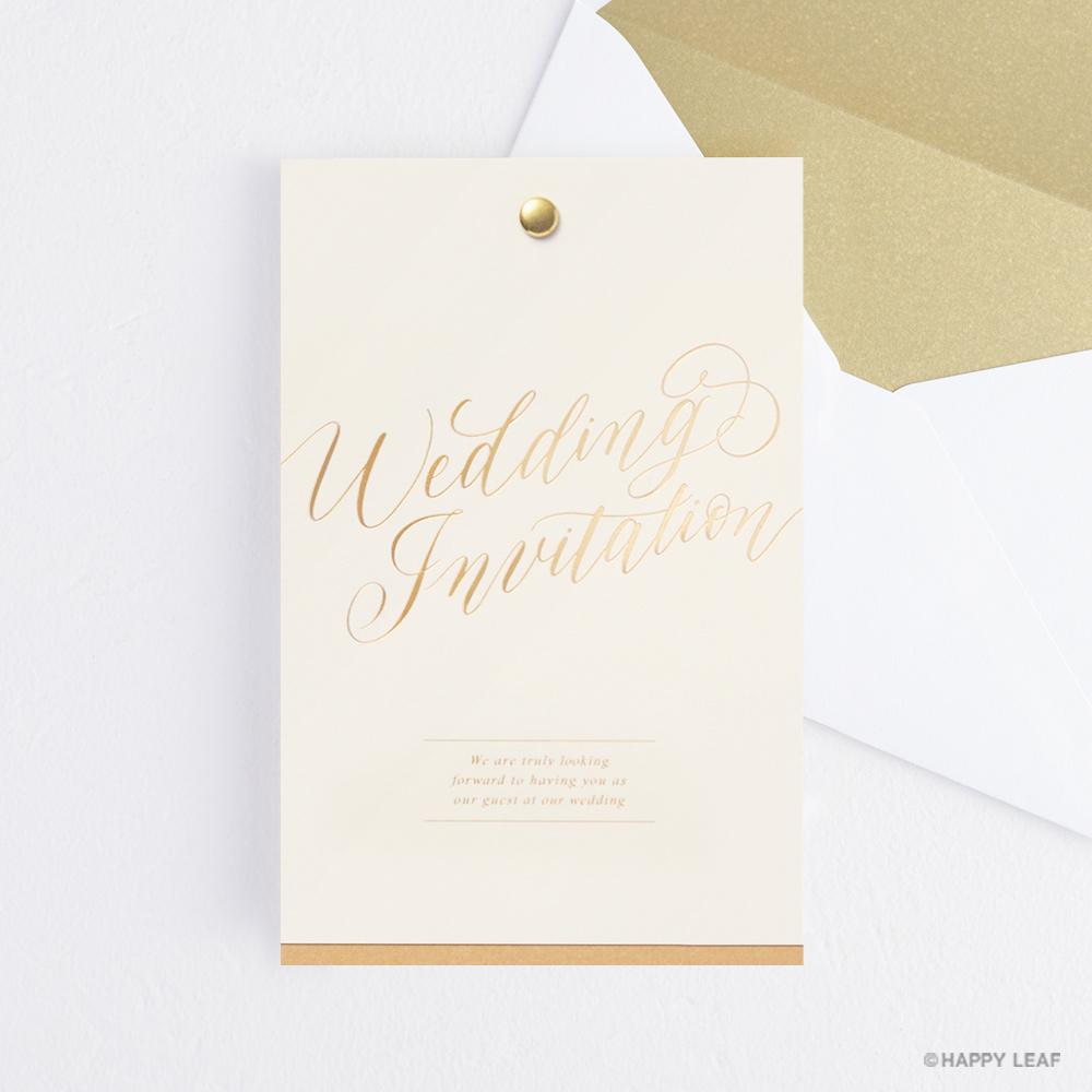 結婚式 招待状 Jouer minimal