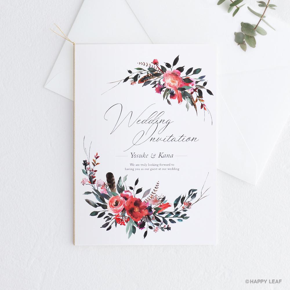 結婚式 招待状 Corolla