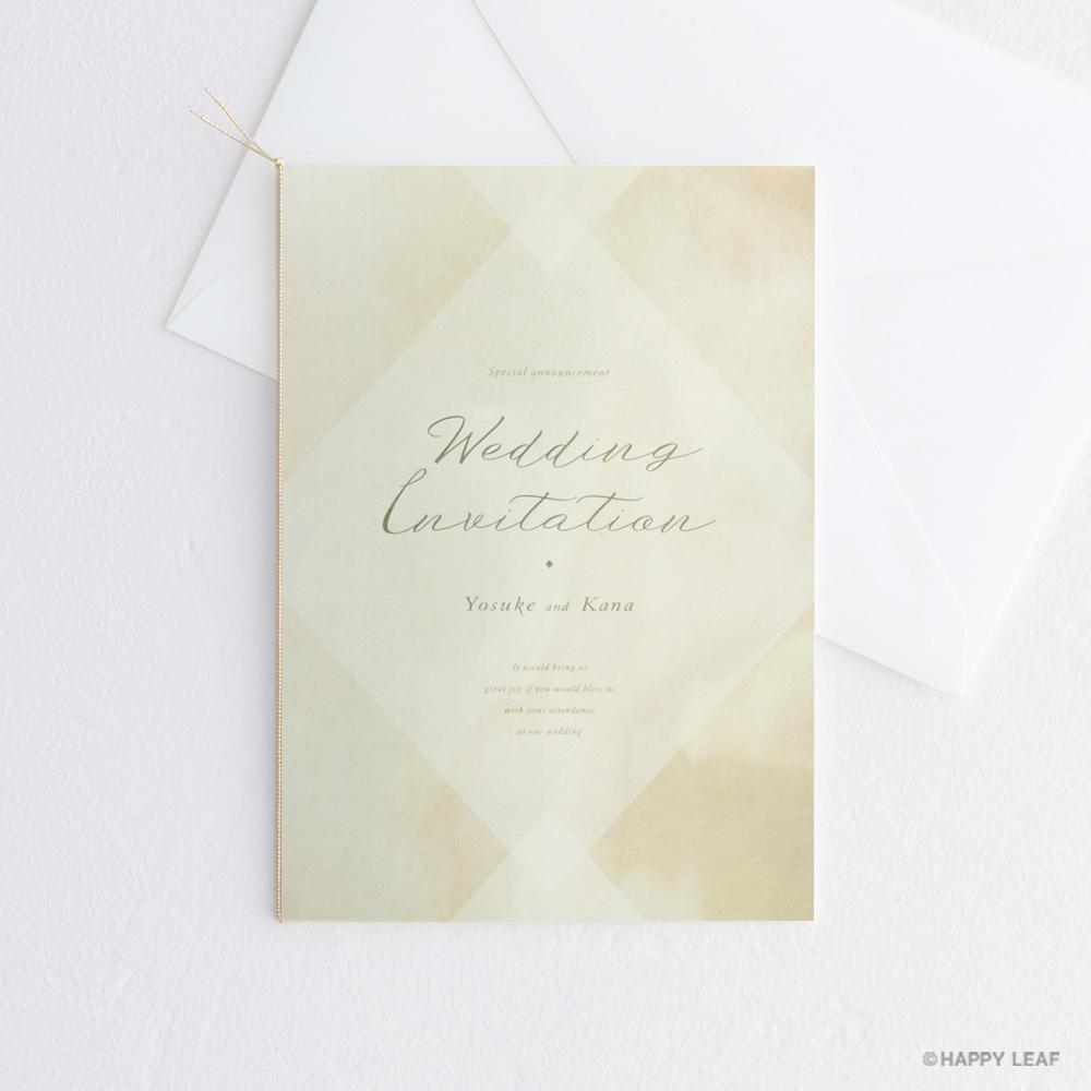 結婚式 招待状 Holy
