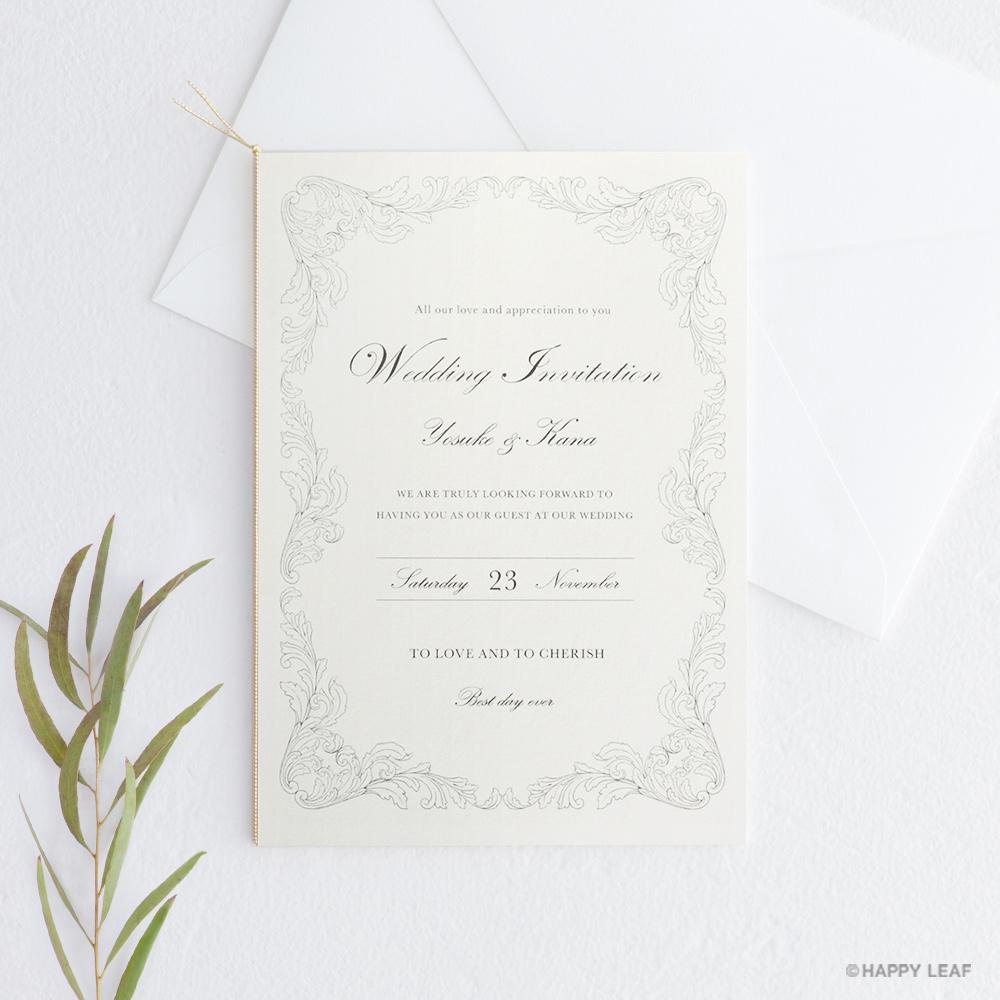 結婚式 招待状 Chouette