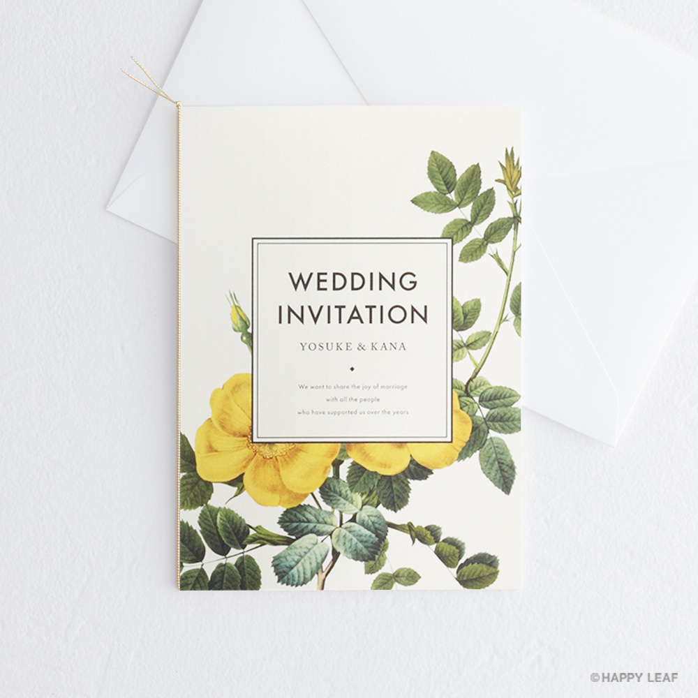結婚式 招待状 Dear