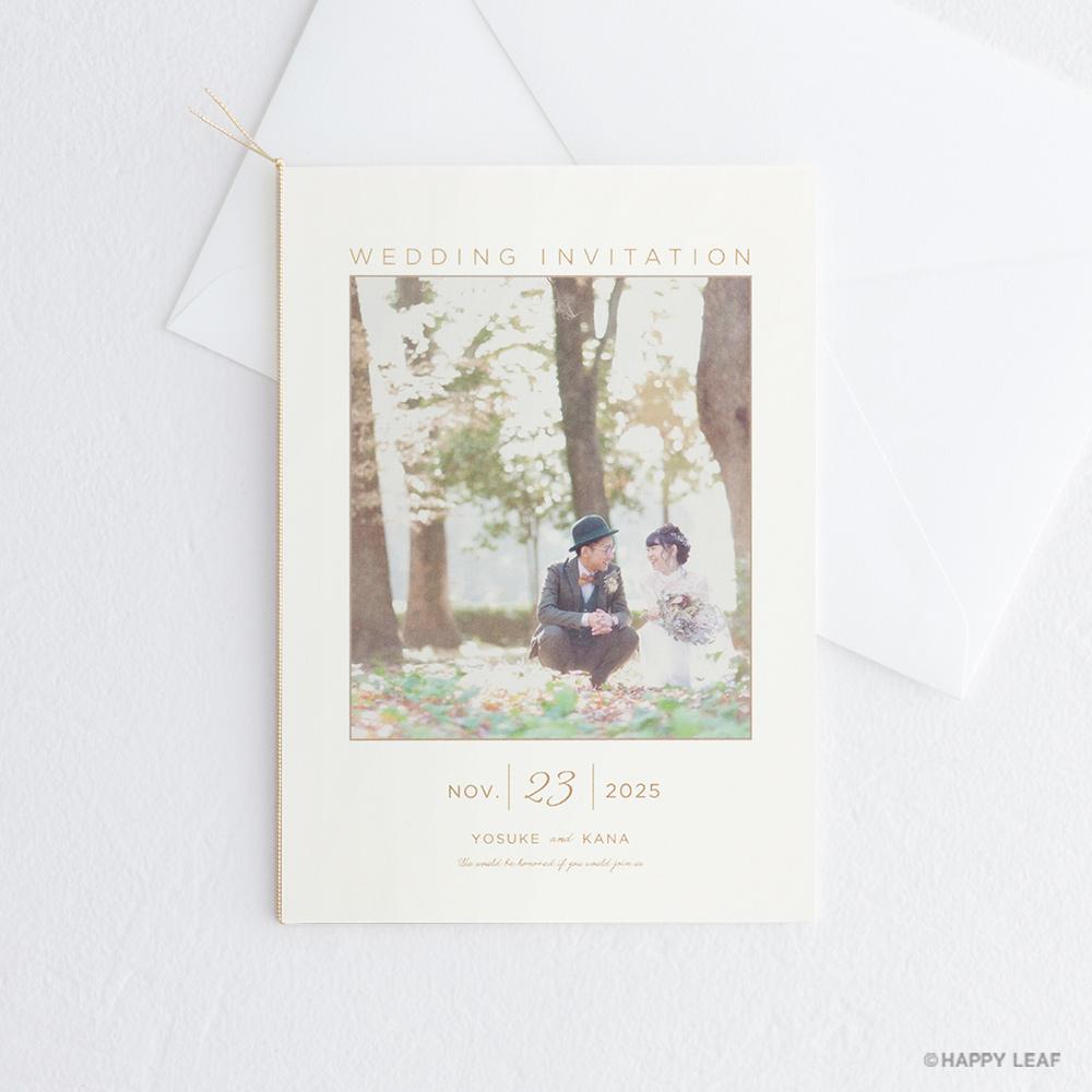 結婚式 招待状 DAYS