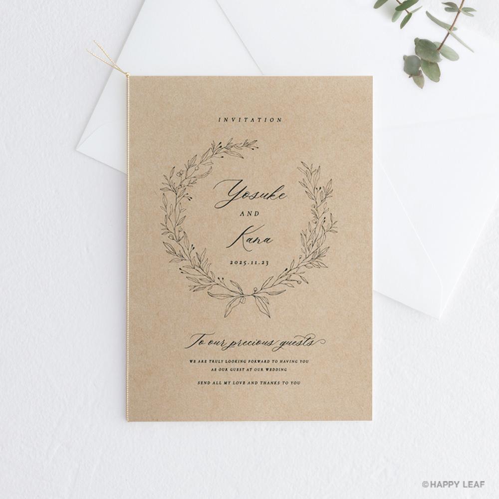 結婚式 招待状 cotone