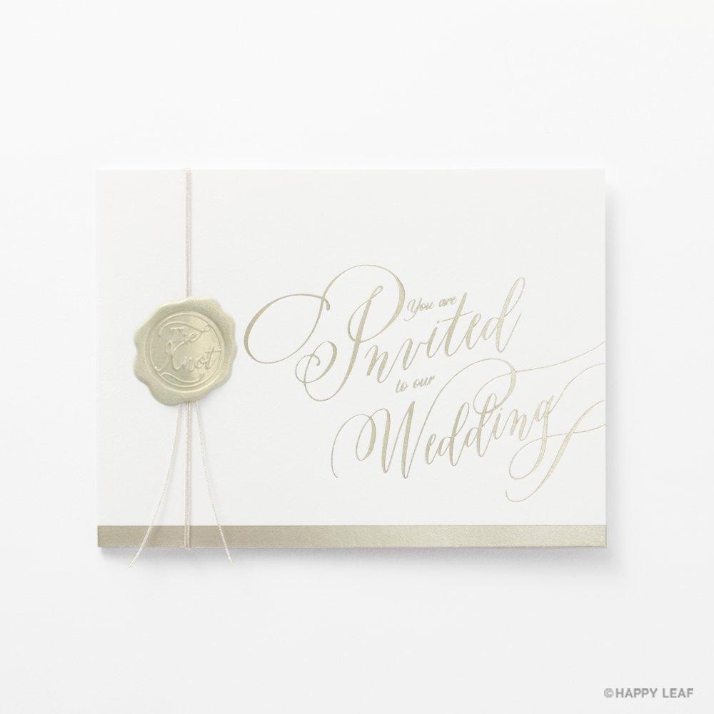 結婚式 招待状 Vino champagne 1