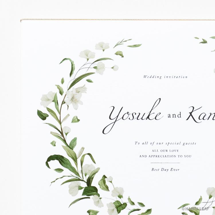結婚式 招待状 Bianca イメージ