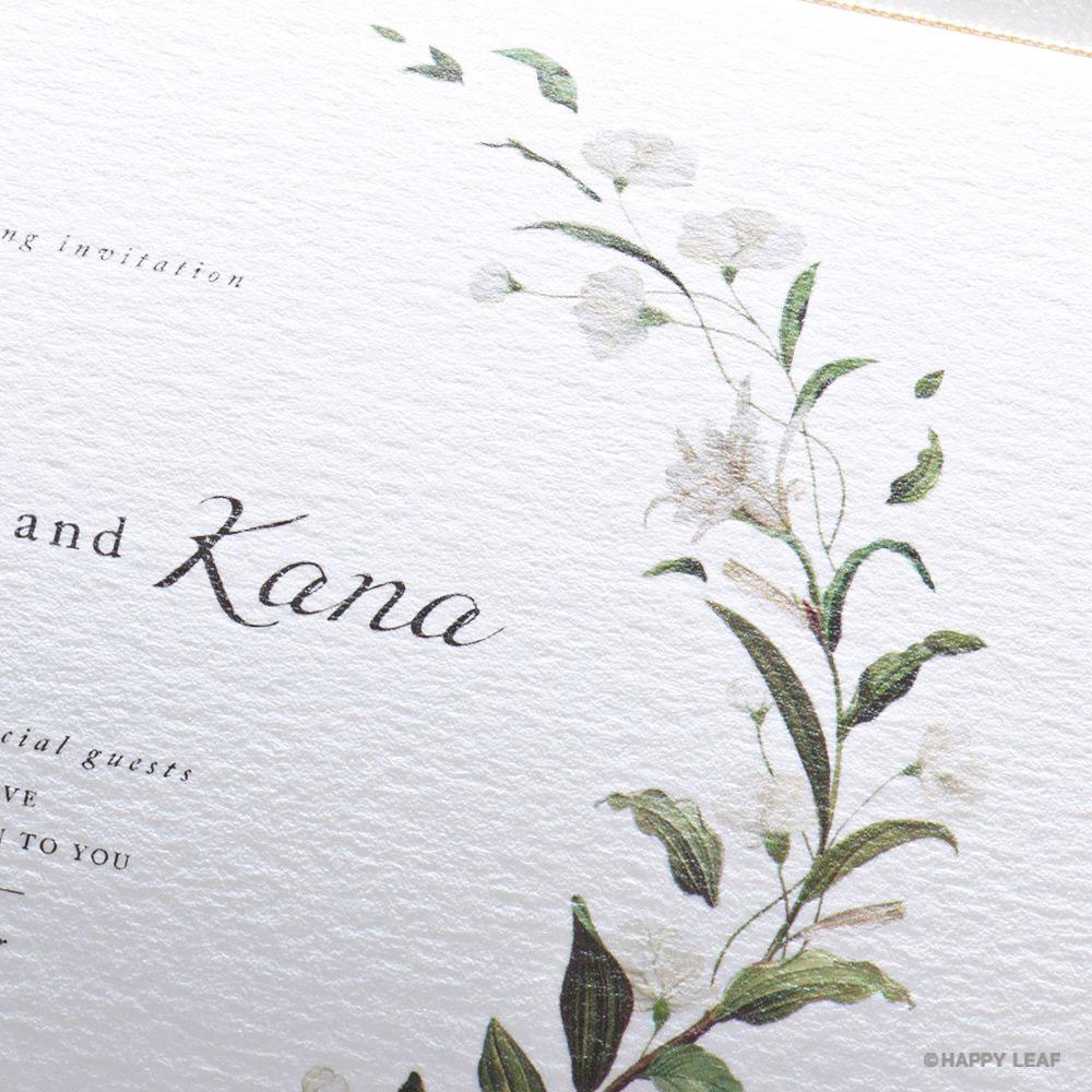 結婚式 招待状 Bianca 3