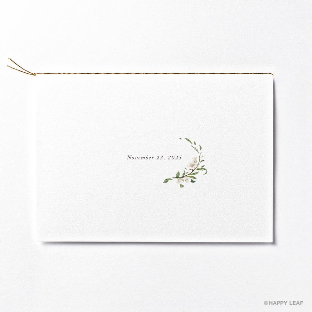 結婚式 招待状 Bianca 4