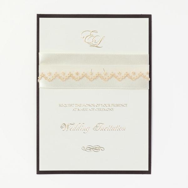 結婚式 招待状 Champagne