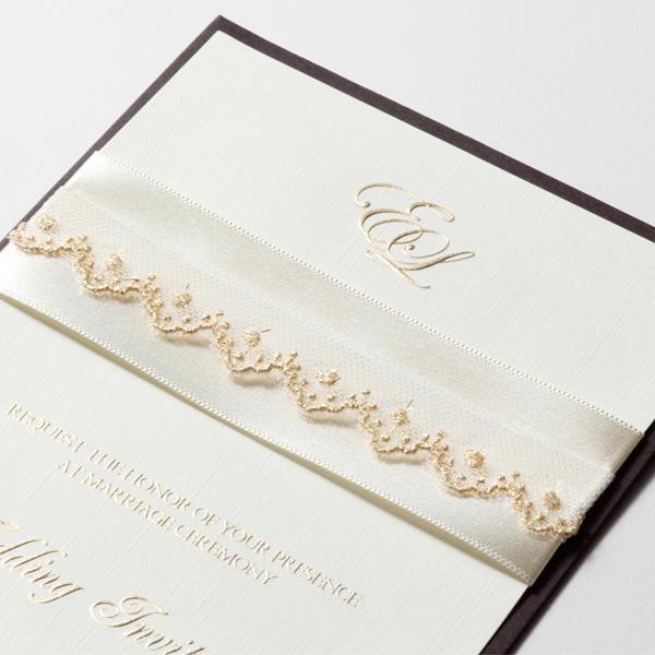 結婚式 招待状 Champagne 2