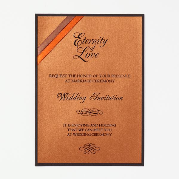 結婚式 招待状 Chocolat