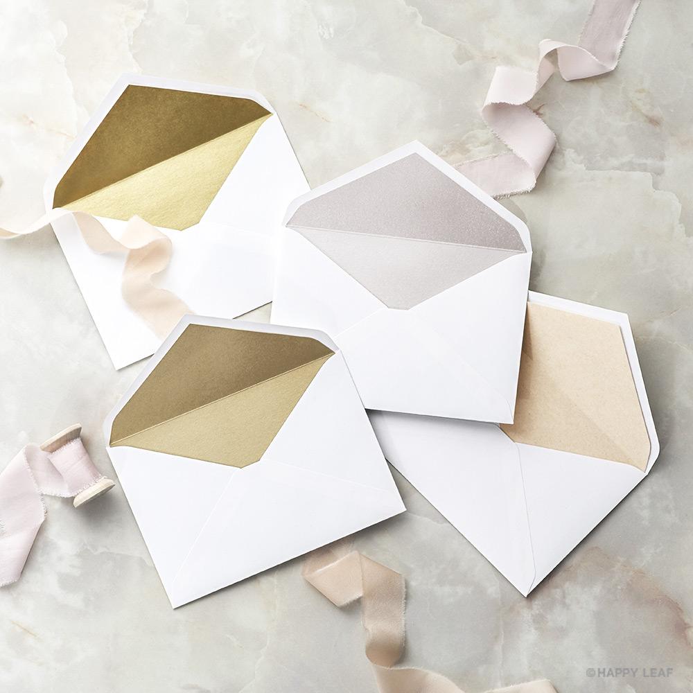 結婚式 招待状 Glanz ホワイト 11