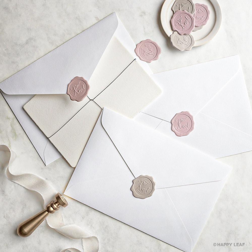 結婚式 招待状 Glanz ホワイト 13