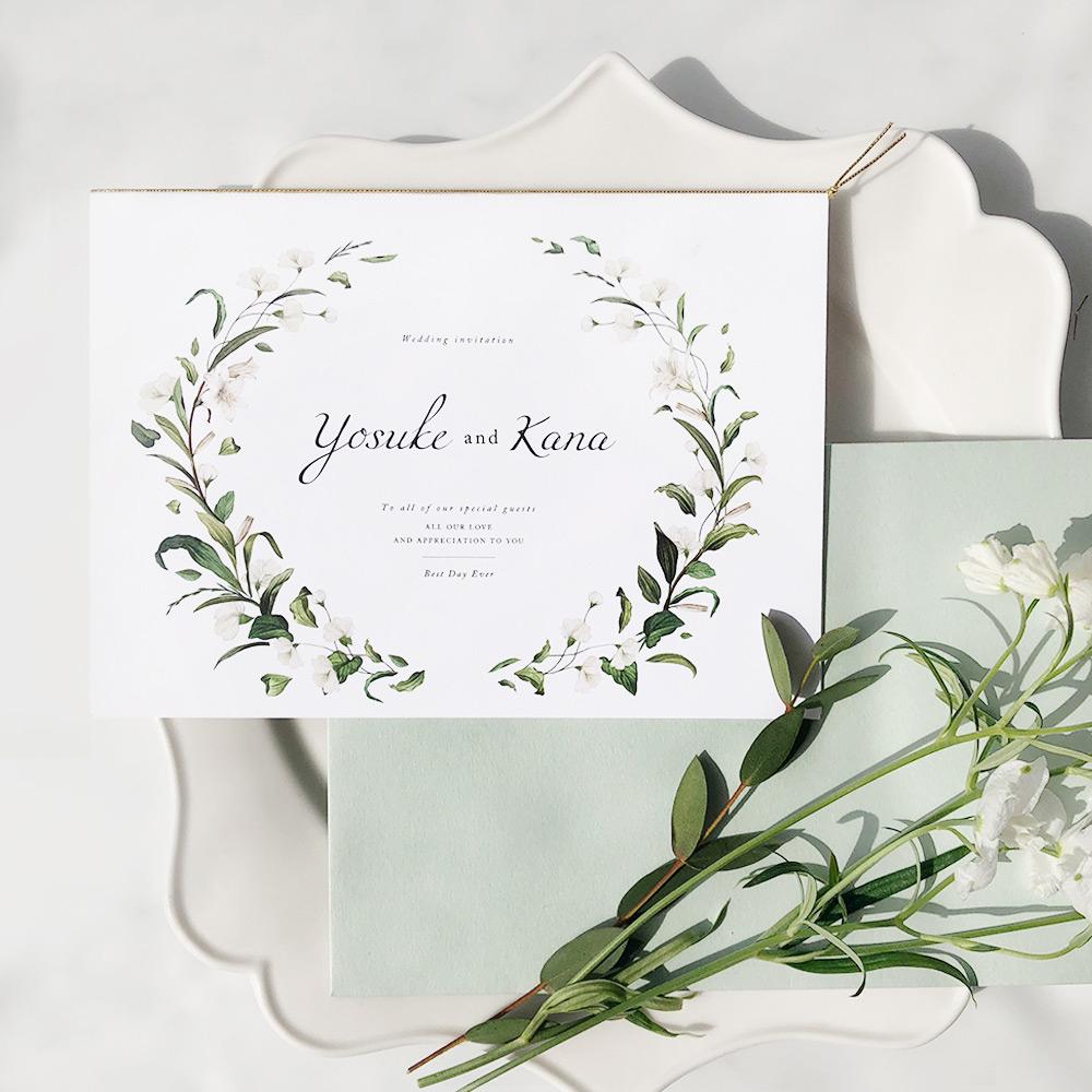 結婚式 招待状 Bianca 1