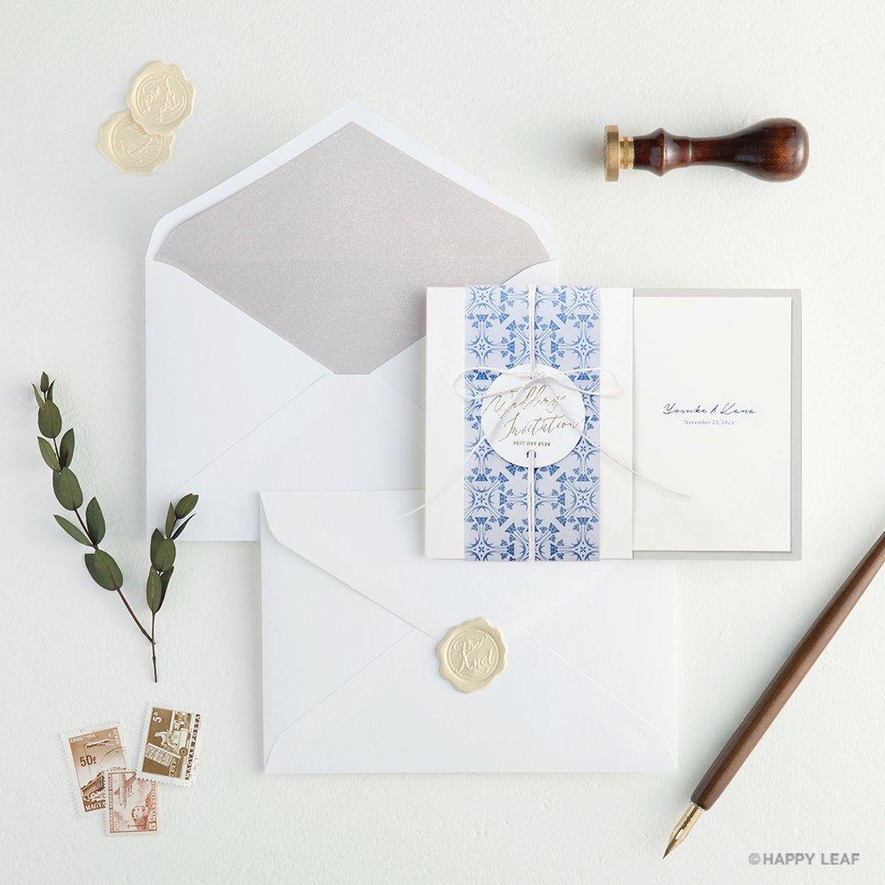 結婚式 招待状 Blau 13