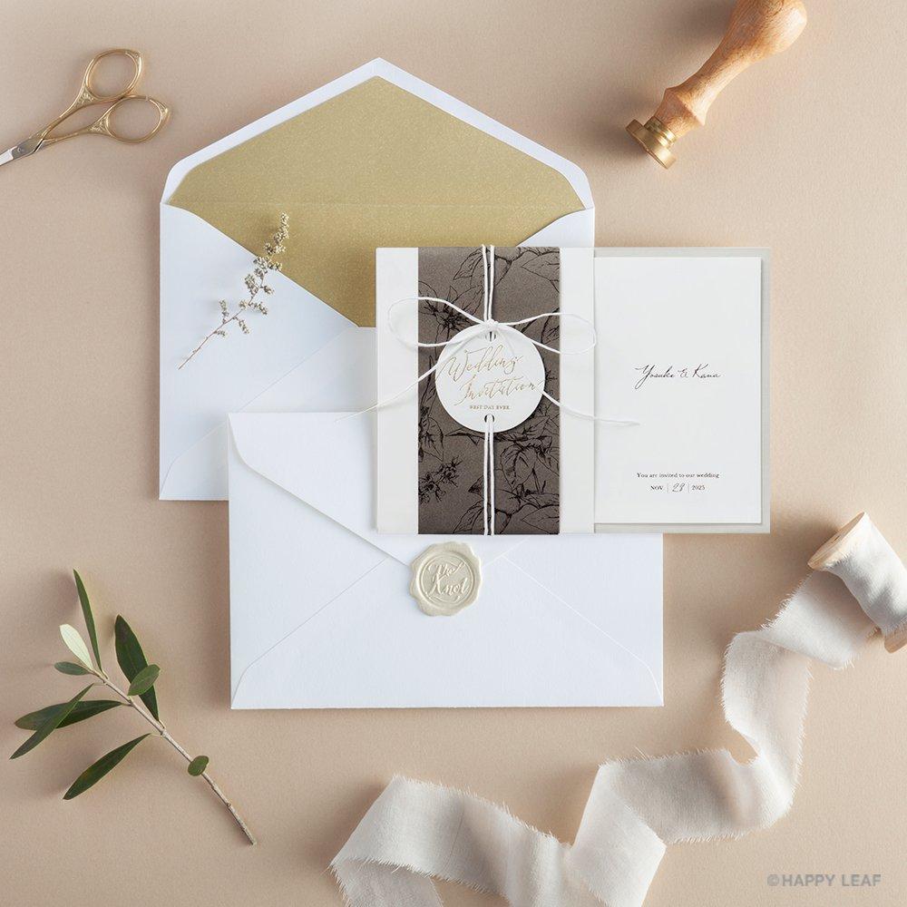 結婚式 招待状 Arbor 11