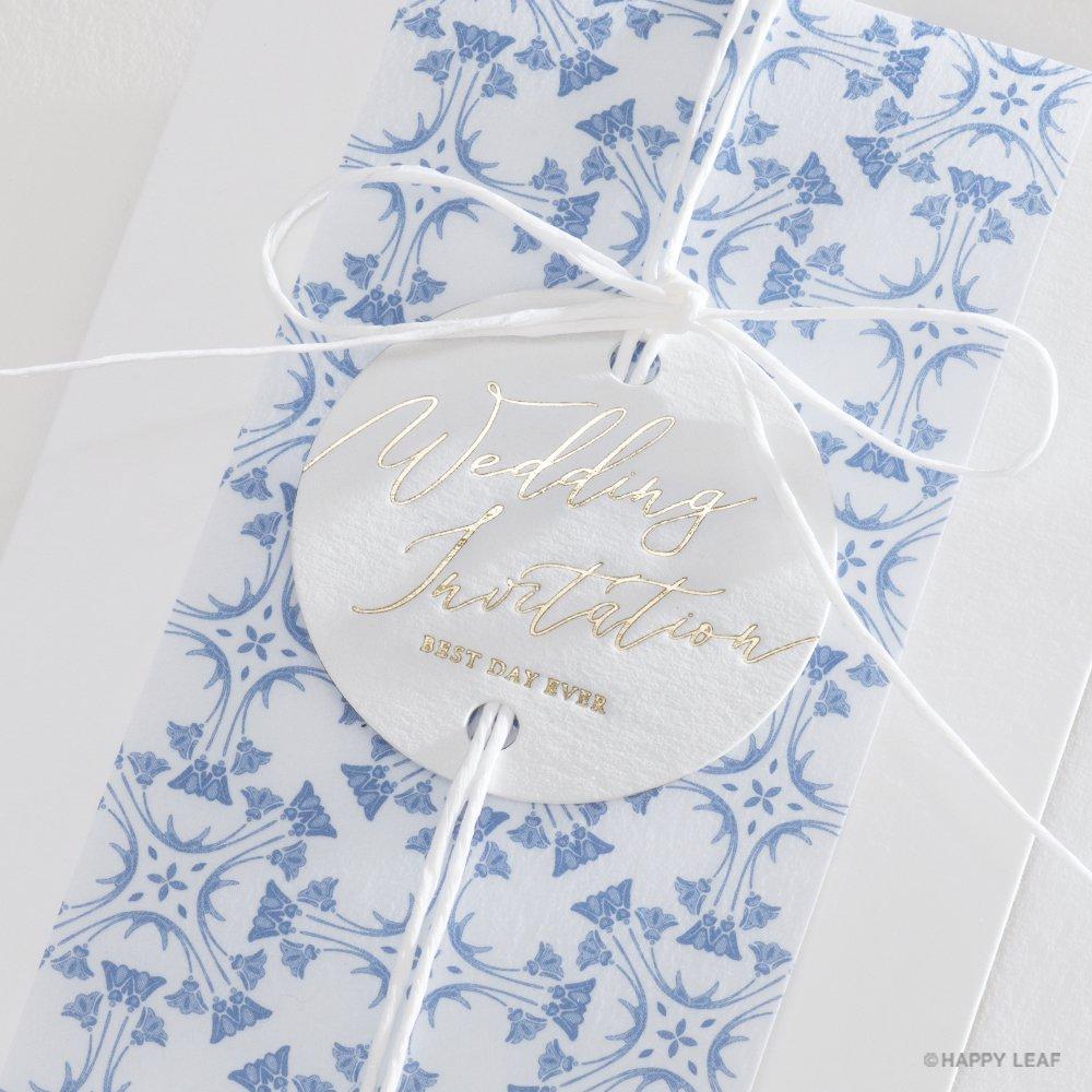 結婚式 招待状 Blau 3