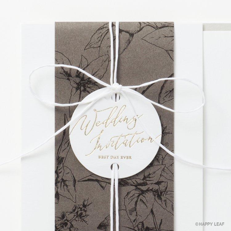 結婚式 招待状 Arbor イメージ