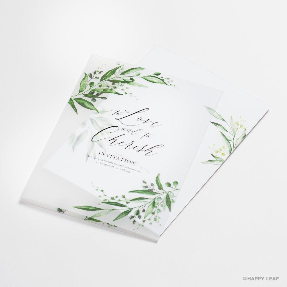 結婚式 招待状 grass 3