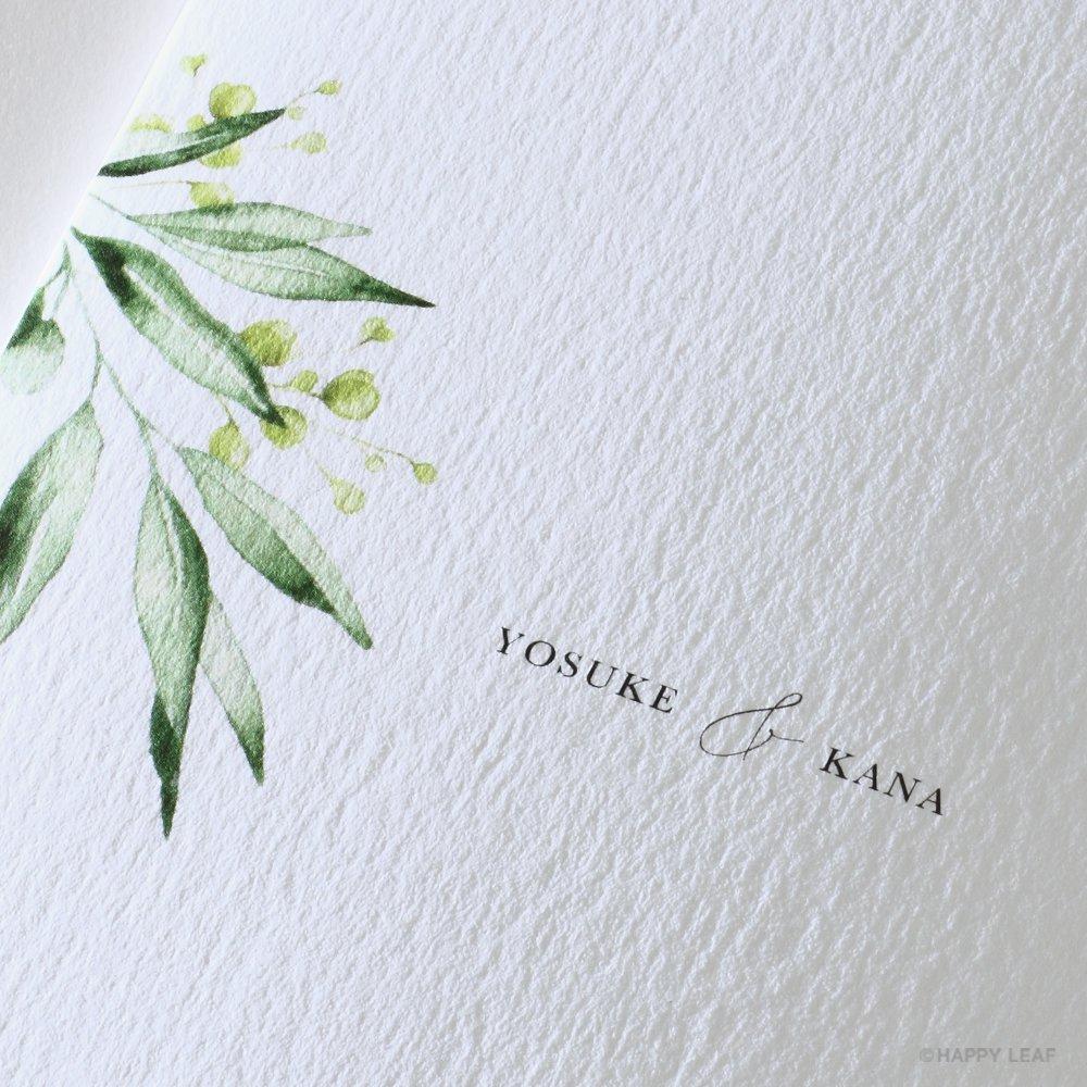 結婚式 招待状 grass 5