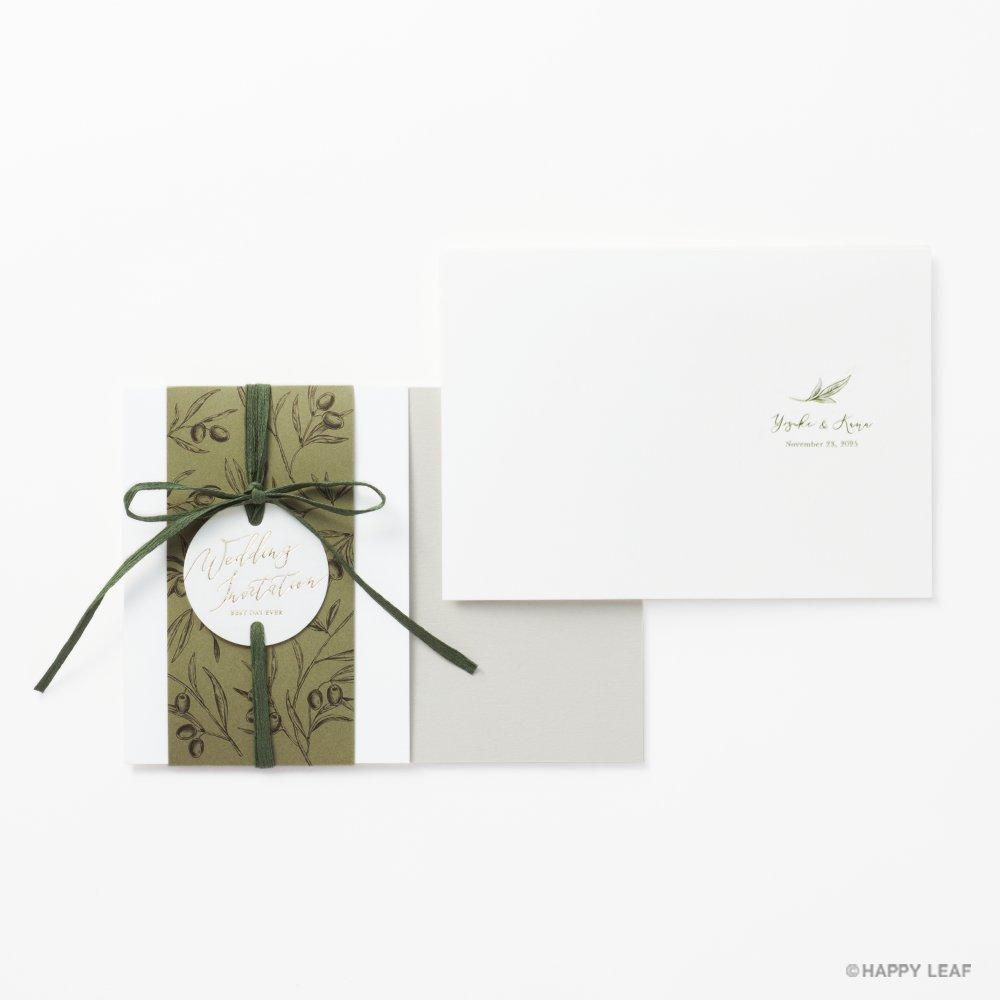 結婚式 招待状 Liber 4