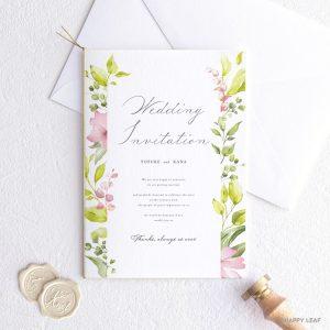 結婚式 招待状 Citron