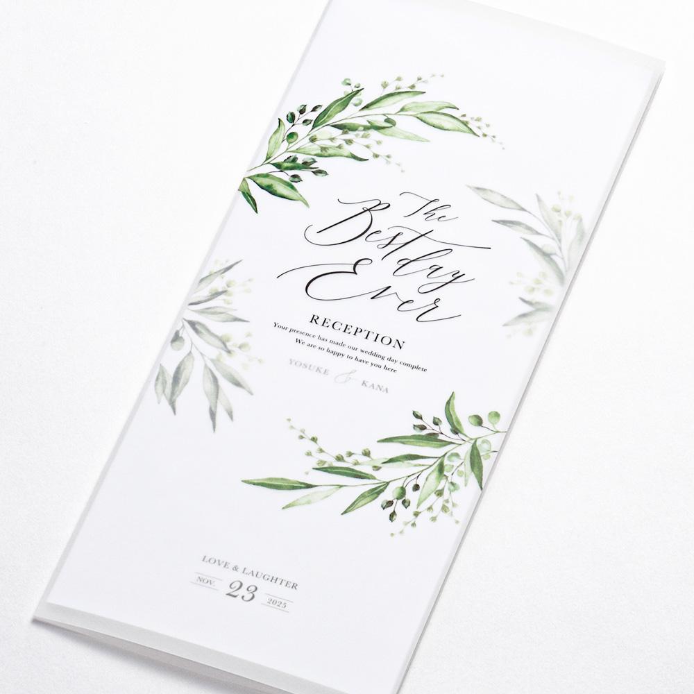 席次表 grass -tracing paper- 1