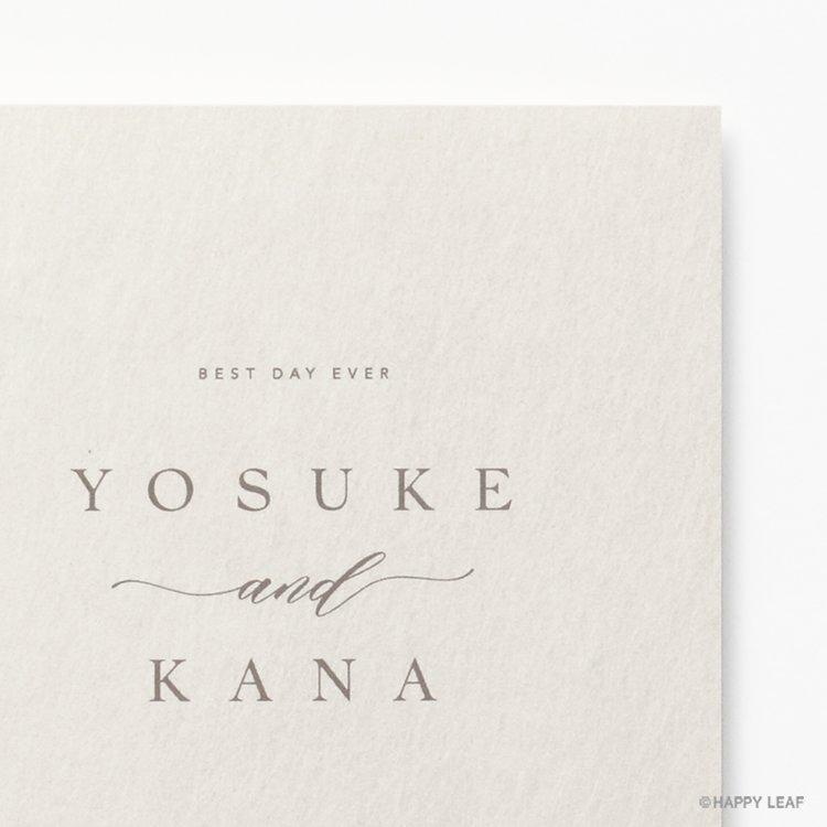 結婚式 招待状 soie ホワイト イメージ