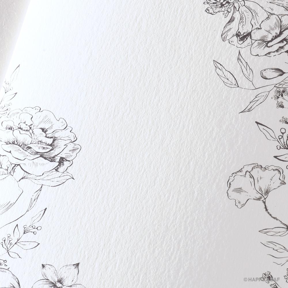結婚式 招待状 aria ホワイト 4