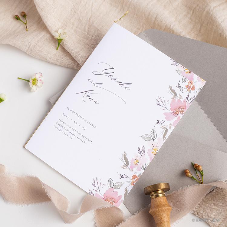 結婚式 招待状 calin イメージ
