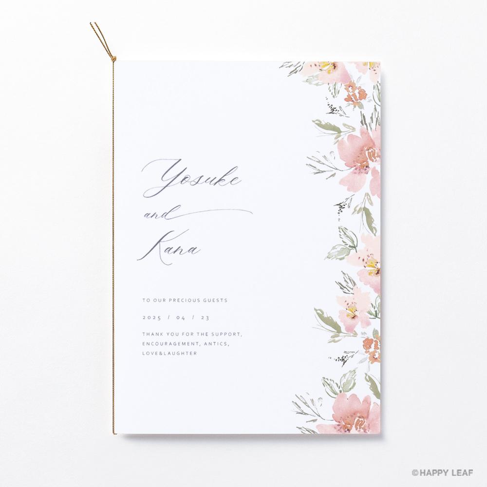 結婚式 招待状 calin 2