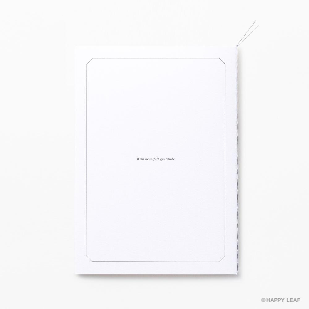 結婚式 招待状 Sylph ホワイト 3