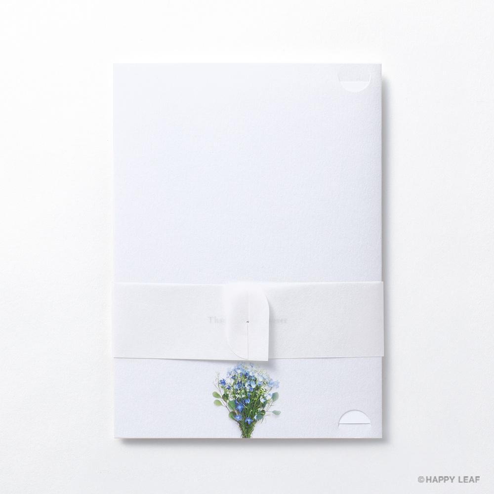 結婚式 招待状 デルフィニウム 5