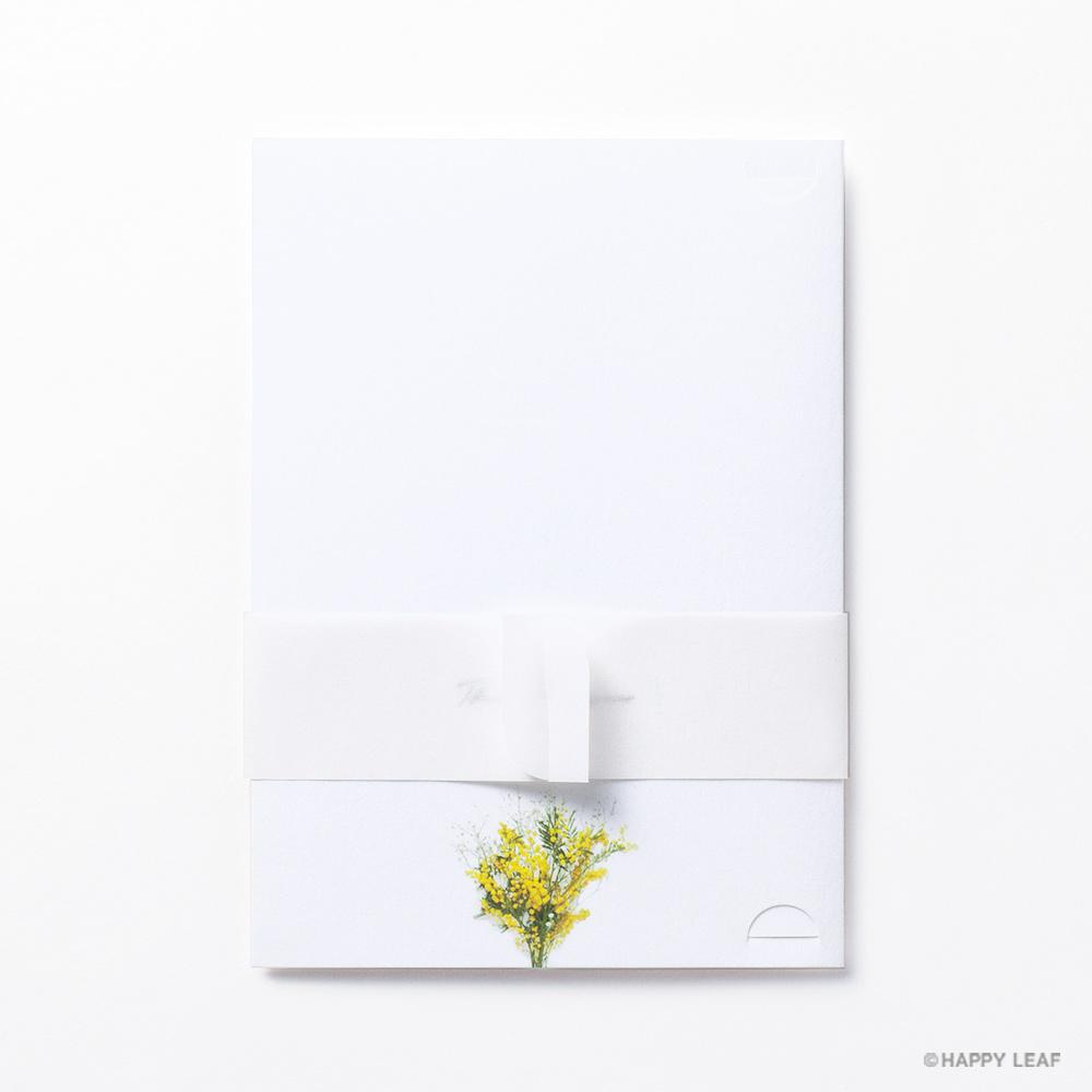 結婚式 招待状 ミモザ 5