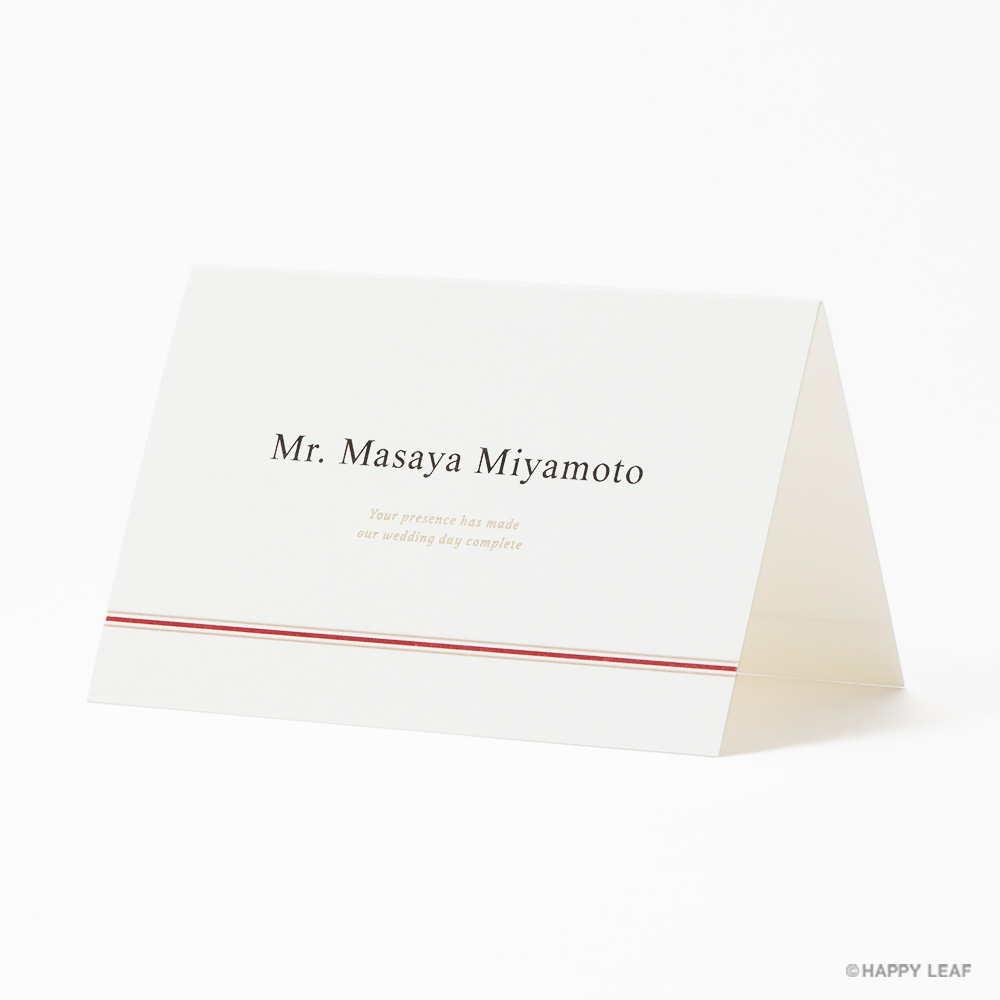 席次表 musubi 紅 11