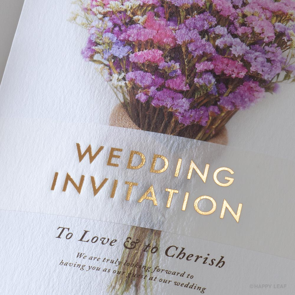 結婚式 招待状 スターチス 4