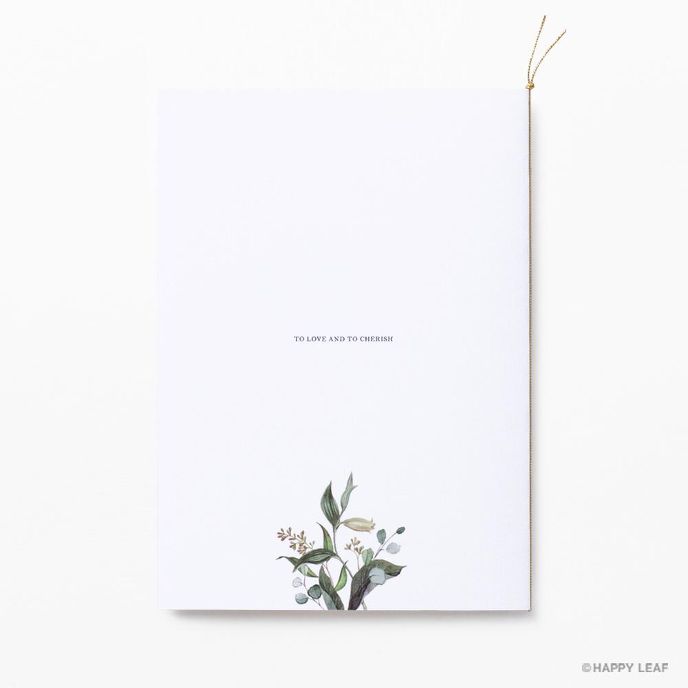 結婚式 招待状 grisvert ホワイト 6