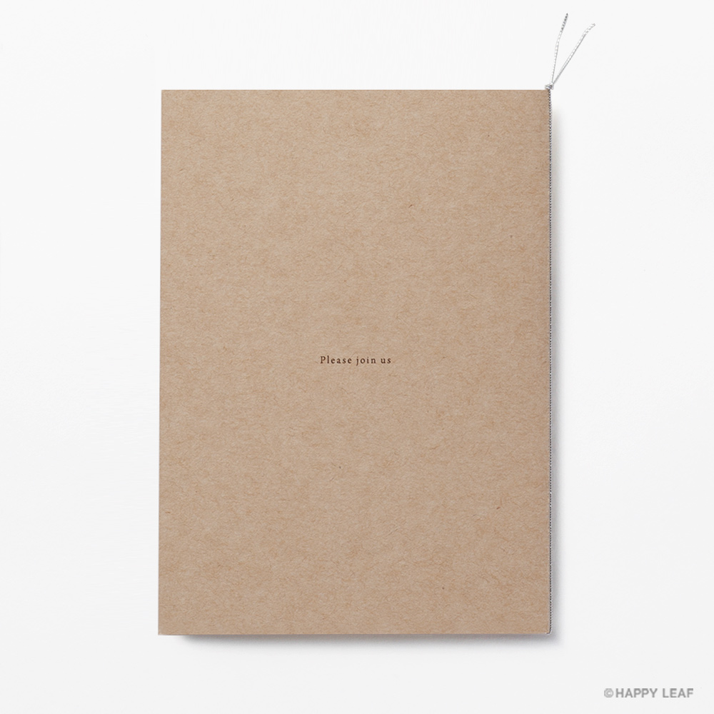 結婚式 招待状 シンボルツリー クラフト 4