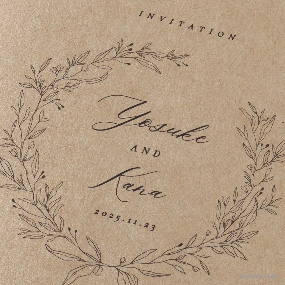 結婚式 招待状 cotone リボン 4