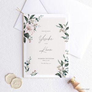 結婚式 招待状 grisvert アイボリー