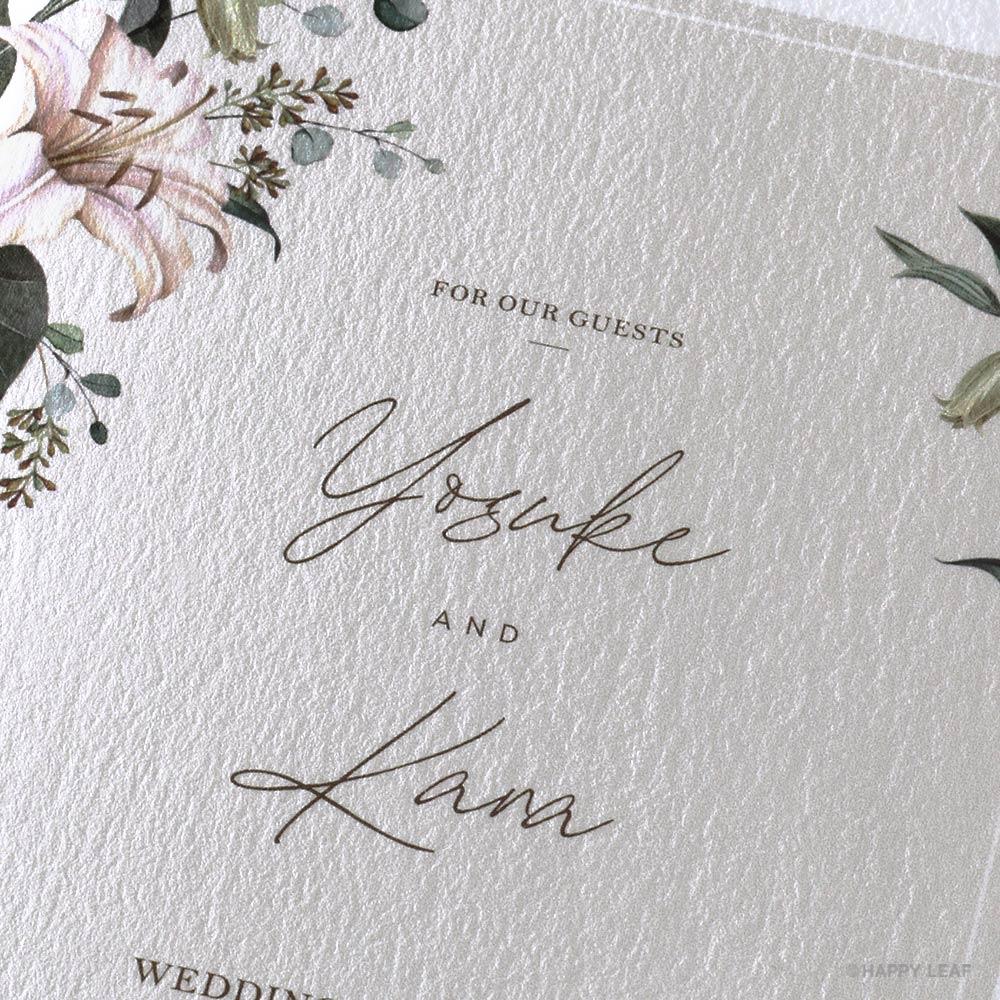 結婚式 招待状 grisvert アイボリー 2