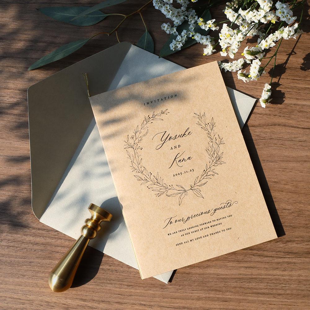 結婚式 招待状 cotone 1