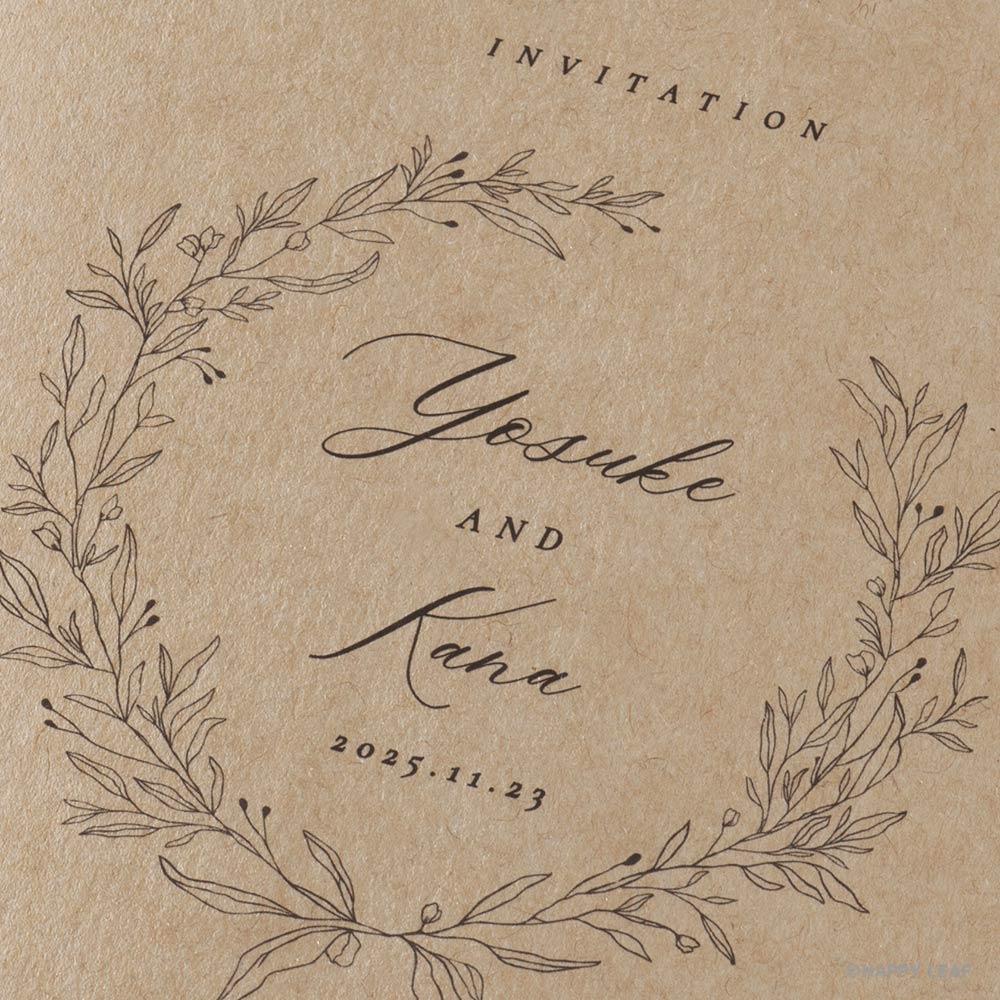 結婚式 招待状 cotone 3